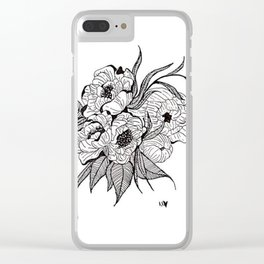 You`re Too Close Clear iPhone Case