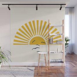 Minimalistic Summer I Wall Mural