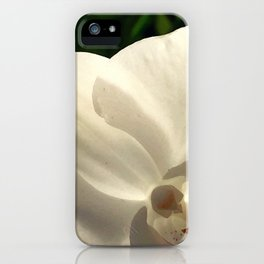 low light white iPhone Case