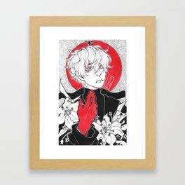 Kaneki [Tokyo Ghoul] Framed Art Print