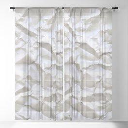 White Trash Sheer Curtain