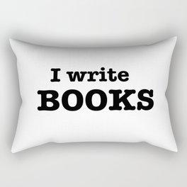 I Write Books Rectangular Pillow