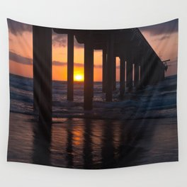 Sunset Captured Wall Tapestry