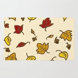 Autumn Leaves - Ivory Rug
