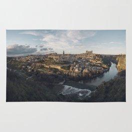 Toledo at sunset Rug