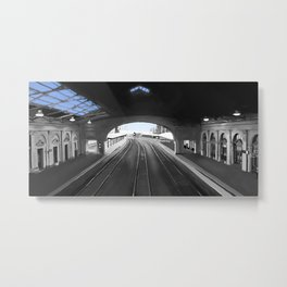Light At End of the Tunnel Metal Print