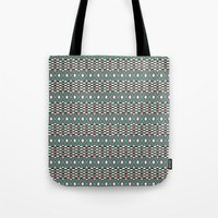 folk Tote Bags featuring Folk by Ana Types Type