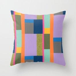 Bauhaus Revisited Throw Pillow