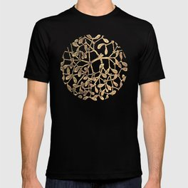 Mistletoe Black T-shirt