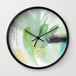 Summer Air Abstract Wall Clock