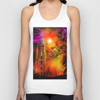 lighthouse Tank Tops featuring Lighthouse by Walter Zettl