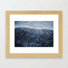 Tempered Tide Framed Art Print