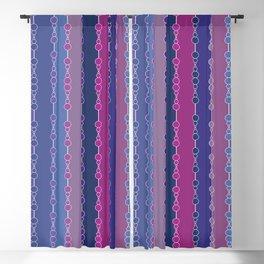 Multi-faceted decorative lines 3 Blackout Curtain