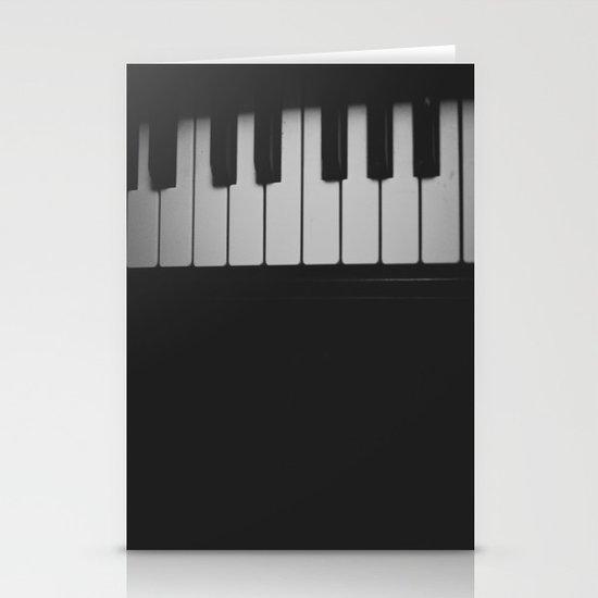 Piano Keys II ANALOG ZINE Stationery Cards