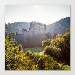 Burg Elz (a German fairytale castle) Canvas Print