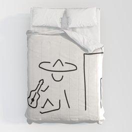 Mexican South America sombrero Comforters