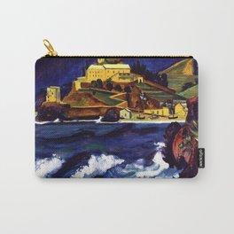 Cinque Terre, Italy Convent von Monterosso al Mare by Hermann Max Pechstein Carry-All Pouch