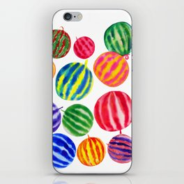 happy day watermelon iPhone Skin