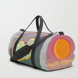 Red Moon Summer Vibrations Duffle Bag