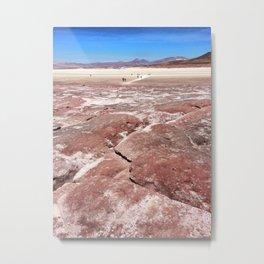 Piedras Rojas, Chile Metal Print