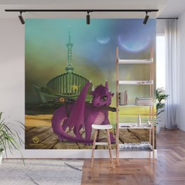 Dragonlings of Valdier: Jade Wall Mural