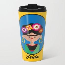 Frida Metal Travel Mug