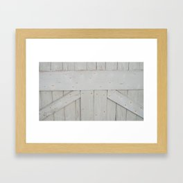 Barn Door Framed Art Print