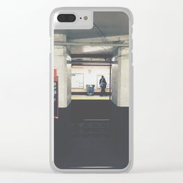 city hall/bsl Clear iPhone Case