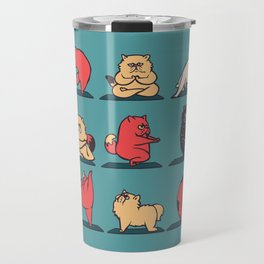 Cat Yoga Travel Mug