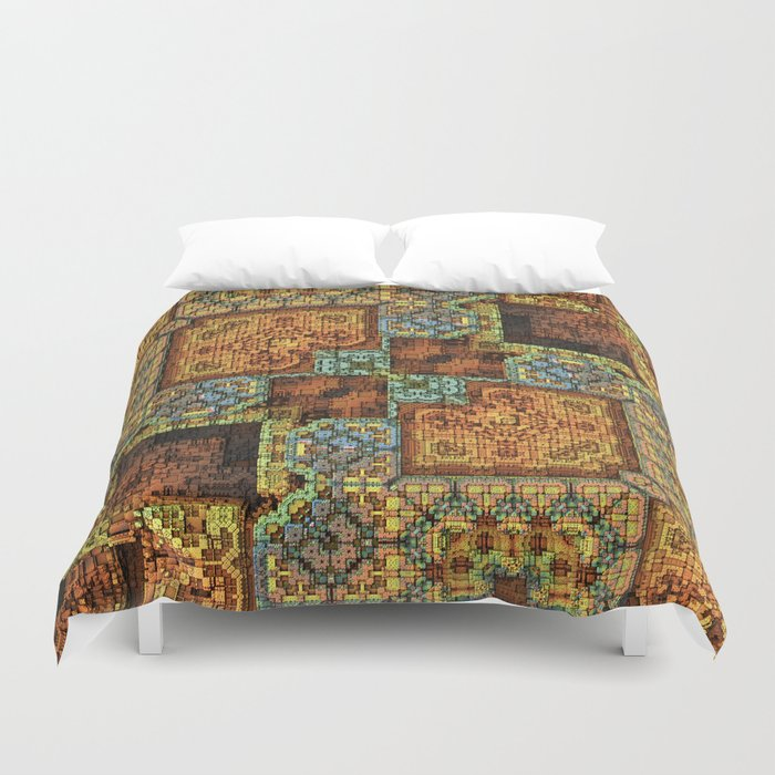 Patchwork Pattern Duvet Cover By Lyle58 Society6