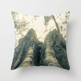 Up in the Trees Throw Pillow