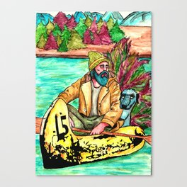 Boatman Canvas Print