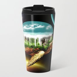 The great A Tuin Metal Travel Mug