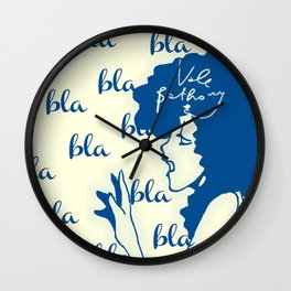 chitchat Wall Clock