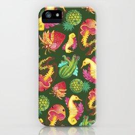 Fruit Fish Frenzy Jungle iPhone Case