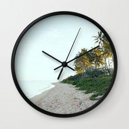 Kahala Beach Wall Clock