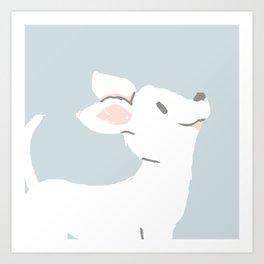 Cute Chihuahua Art Print