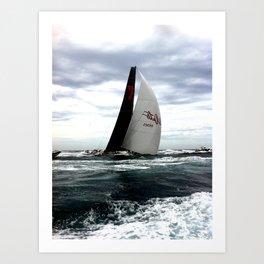 Sydney To Hobart - Wild Oats Art Print
