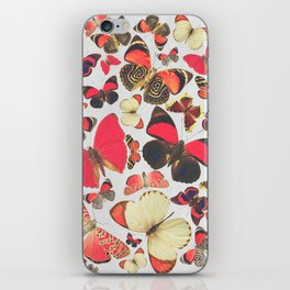 Come with me butterflies. iPhone Skin