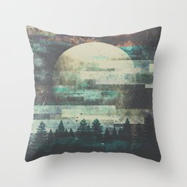 Children of the moon Throw Pillow