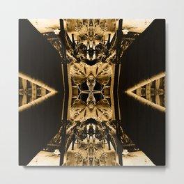 Through My Looking Glass v3 Metal Print