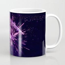 Fireworks purple Coffee Mug