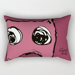 Heartey - berry Rectangular Pillow