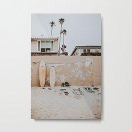 lets surf viii / san diego, california Metal Print