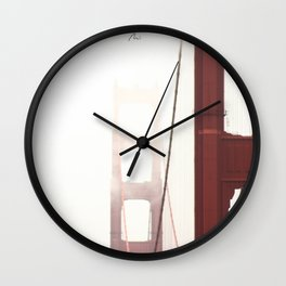 Summer in San Francisco Wall Clock