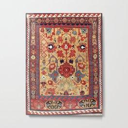 Sauj Bulag Azerbaijan Northwest Persian Rug Print Metal Print