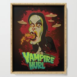 Vampire Hurl Serving Tray