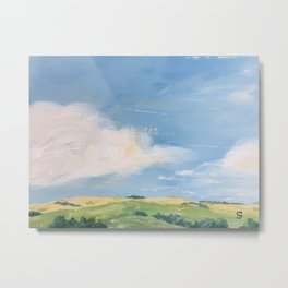 original abstract landscape painting number 11 Metal Print
