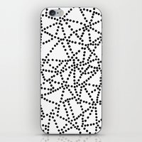 dots iPhone & iPod Skins featuring Dots by Project M