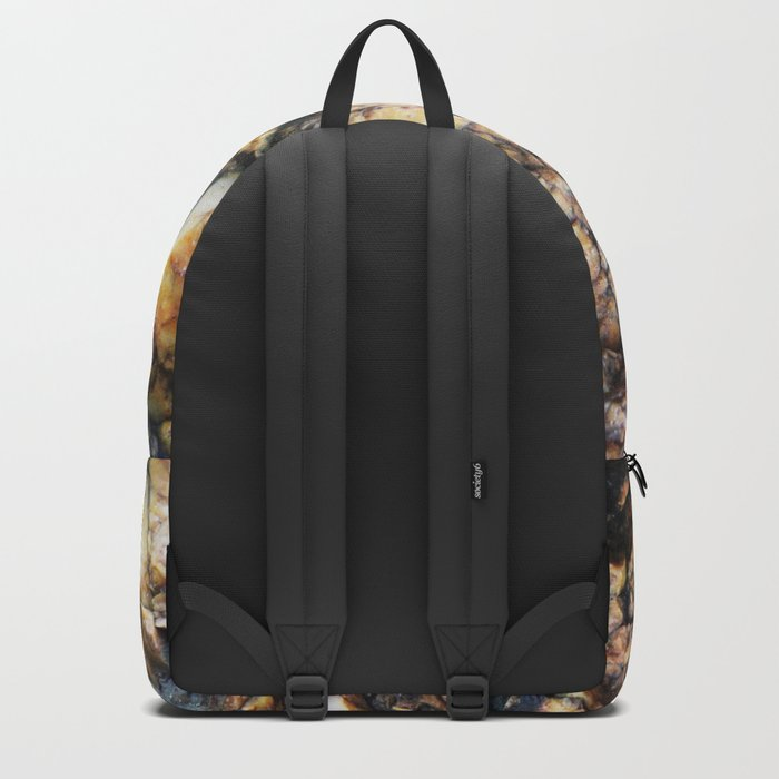 Jagged Rock Texture Backpack
